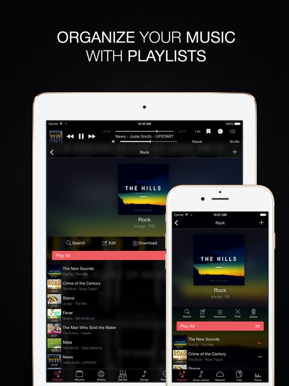 Evermusic Pro - Offline Music Player & Cloud Audio Screenshots