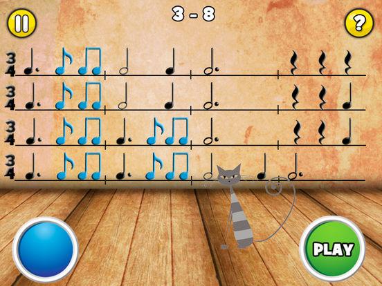 Rhythm Cat Pro HD - Learn To Read Music Screenshots