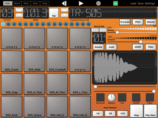 Beat-Machine Screenshots