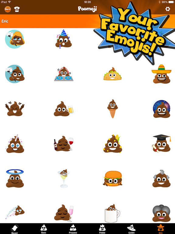 Poomoji Screenshots