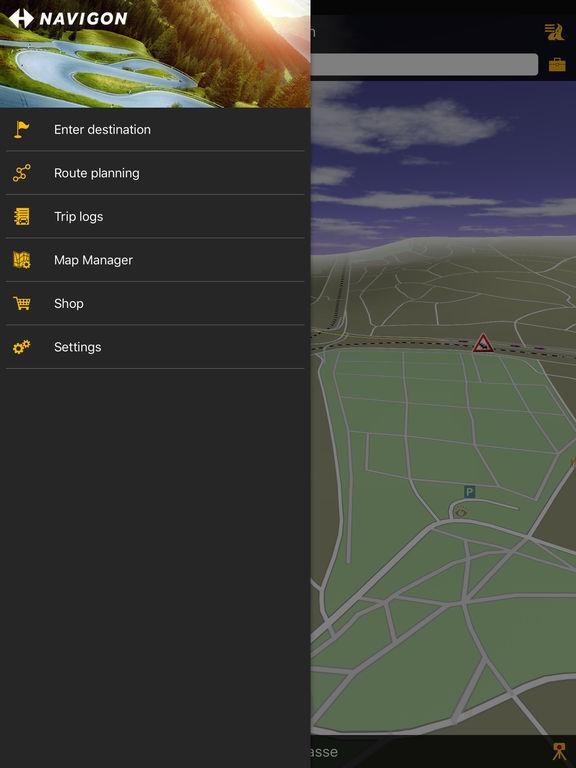 NAVIGON Russia Screenshots