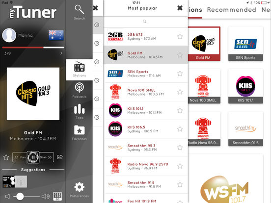 myTuner Radio Pro: Stream and listen live stations Screenshots