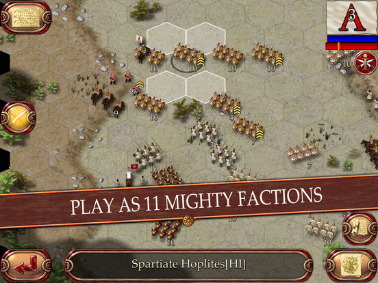 Ancient Battle: Alexander Gold Screenshots