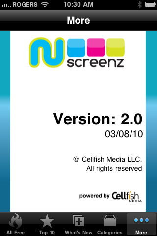 NuScreenz 2.0 Screenshot