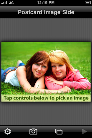 iHagaki Postcards free app screenshot 1