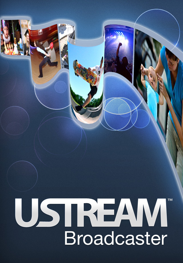 Ustream Live Broadcaster free app screenshot 1