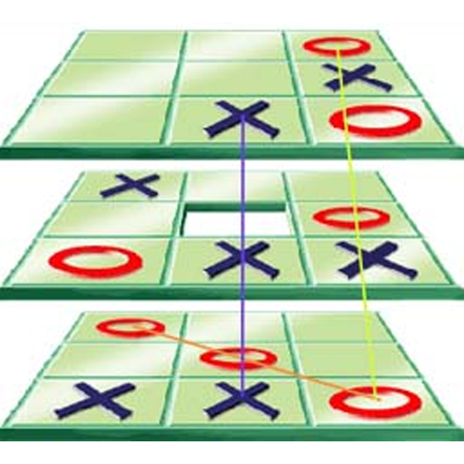 Tic Tac Toe Too - 3D