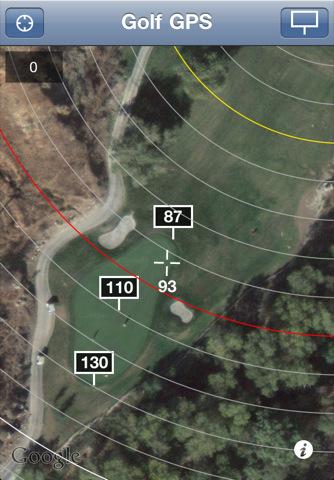 Golf GPS - Ad Free iPhone Screenshot 4