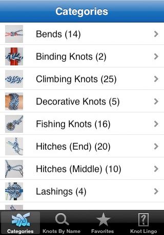 Knot Guide (Free Knots) free app screenshot 1