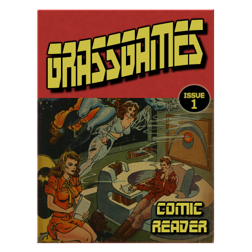 free GrassGames' Comic Reader iphone app