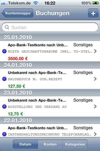 Bank X Mobile iPhone Screenshot 3