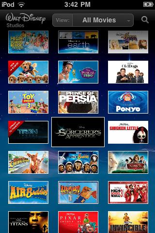 Disney Movies free app screenshot 1