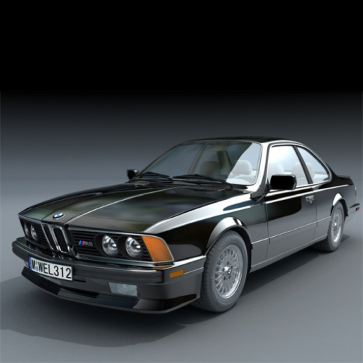 Classic BMW M-Power Concentration
