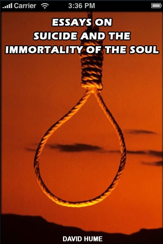 Essays on Suicide and the Immortality of the Soul screenshot 1