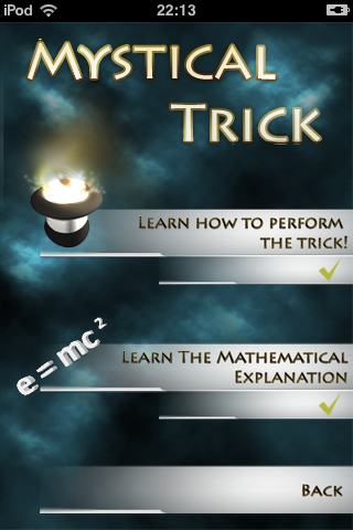 Mystical Trick Screenshot