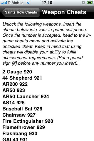 cheat codes for saints row 3 xbox 360