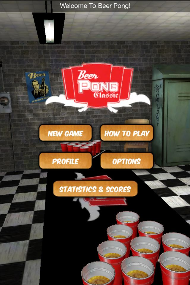 how to play beer pong game