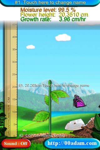 An Origami Orchid free app screenshot 1