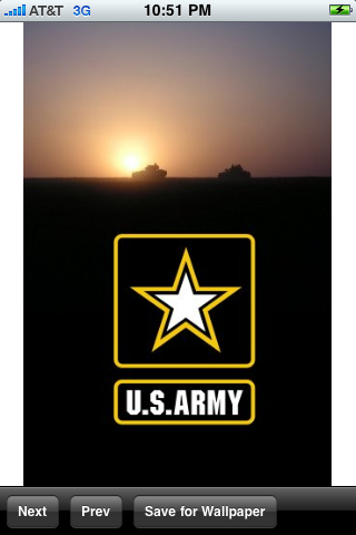 Infantry Iphone Wallpaper