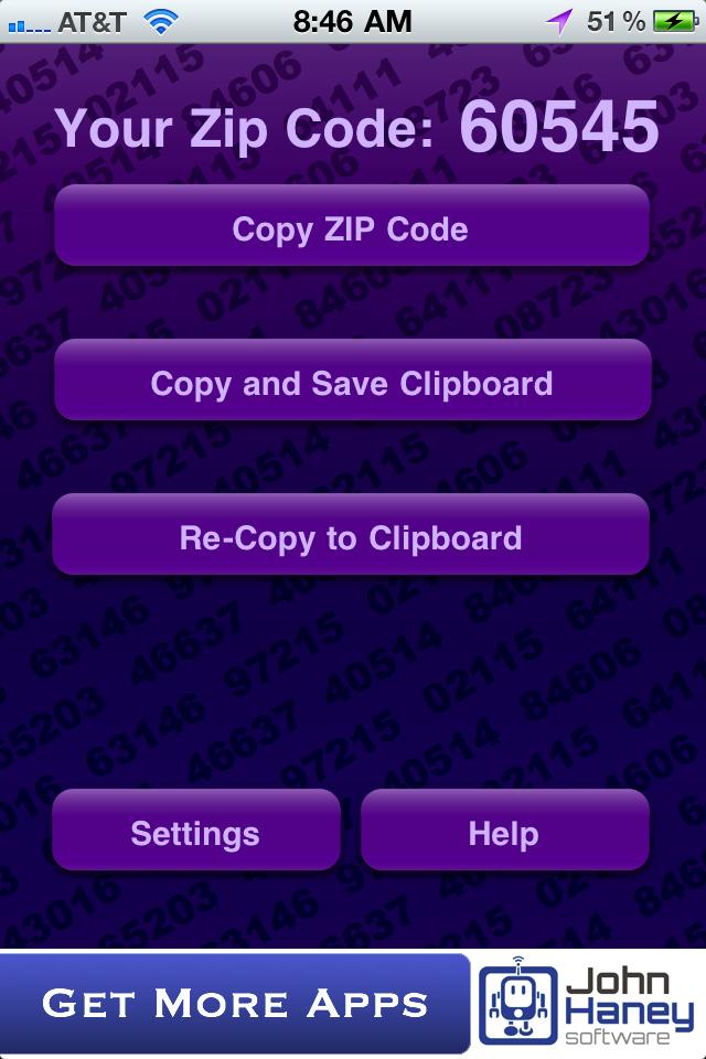 What's My Zip?