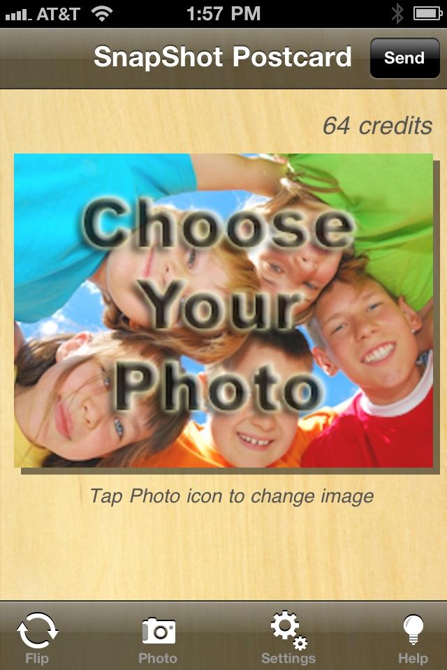SnapShot Postcard free app screenshot 1