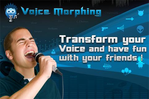 Voice Morphing LITE free app screenshot 1