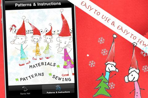 Santa Hat Sewing free app screenshot 1