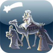 Christmas Nativity Scene 3D - An interactive crche icon