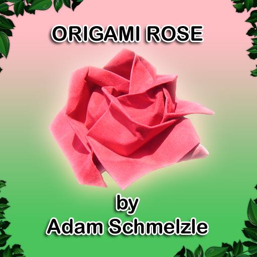 free Origami Rose iphone app
