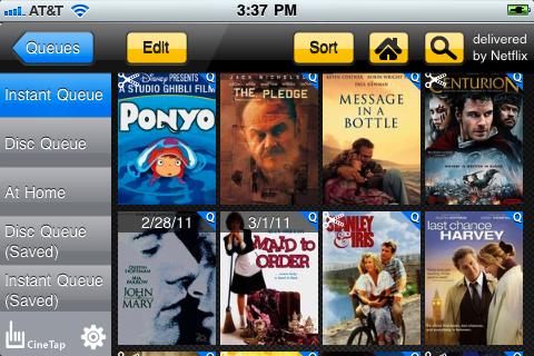 CineTap Mini for Netflix free app screenshot 1