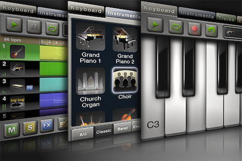 Music Studio Lite free app screenshot 1