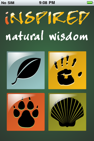 Inspired Natural Wisdom and Audio Affirmations Screenshot
