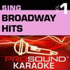 Sing Broadway Hits, Vol. 1 (Karaoke Performance Tracks), ProSound Karaoke Band