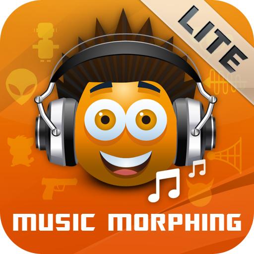 free Music Morphing LITE iphone app