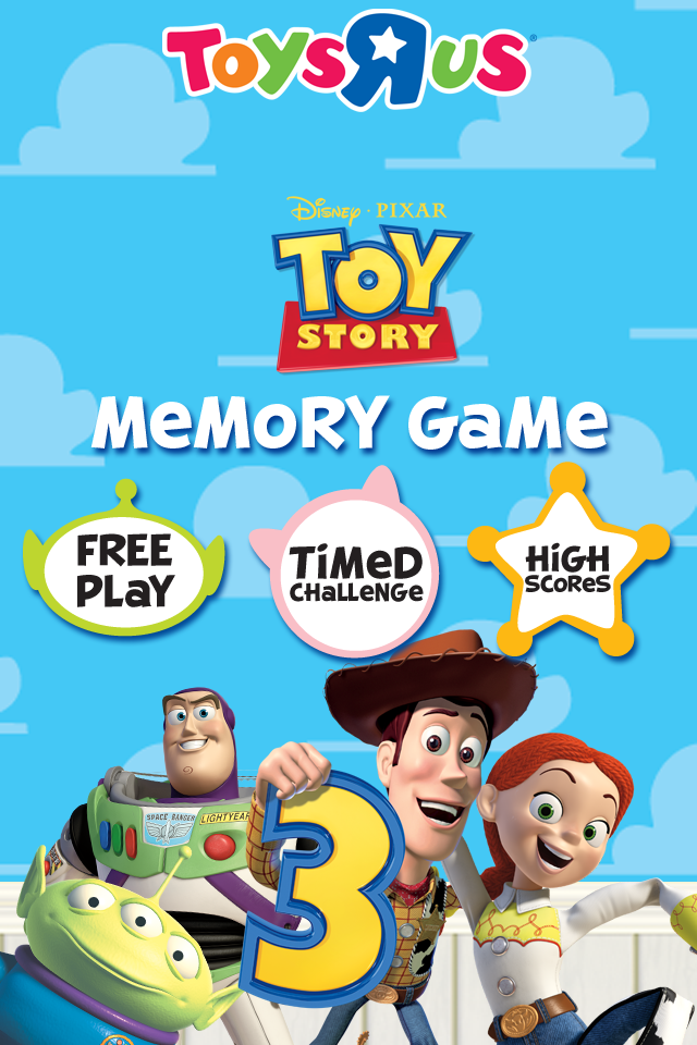 Toy Story 3 Memory Match