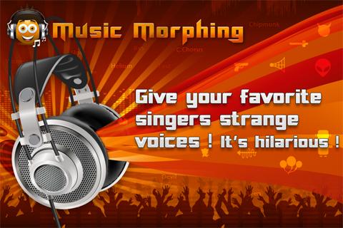 Music Morphing LITE free app screenshot 1