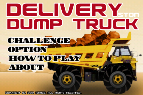 Delivery DumpTruck FREE
