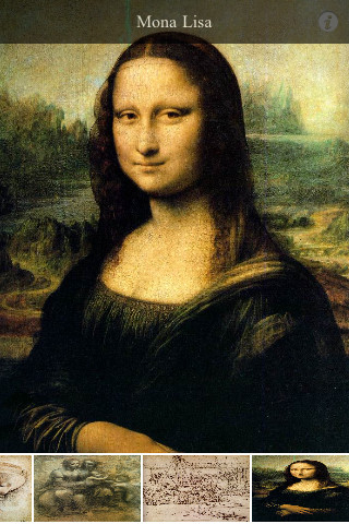 Leonardo Da Vinci for iPhone iPhone Screenshot 1