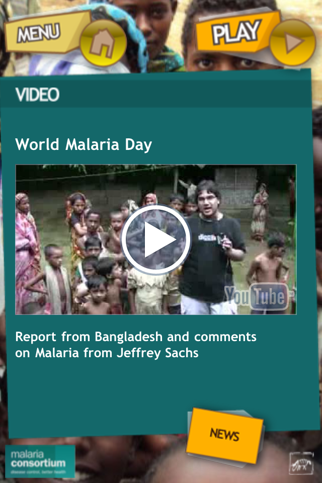 End Malaria Lite. Screenshot