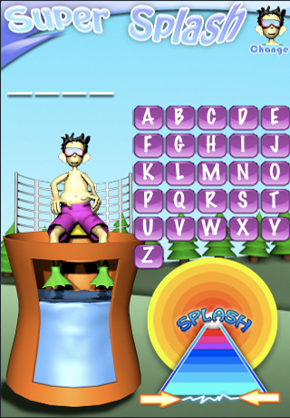 Hangman Super Splash Word Game