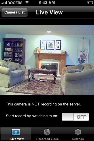 AtHome Camera Test free app screenshot 1