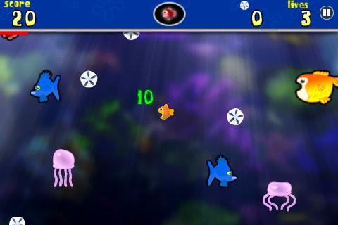 Fish Food Frenzy Free free app screenshot 1