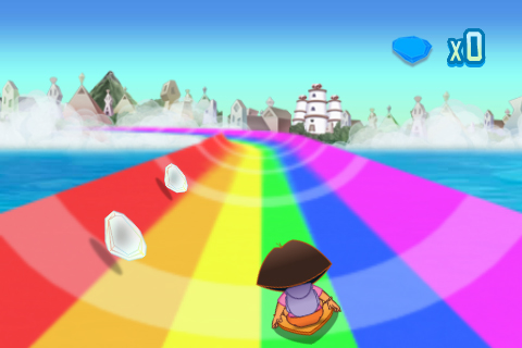 Dora Saves the Crystal Kingdom – Rainbow Ride Screenshot