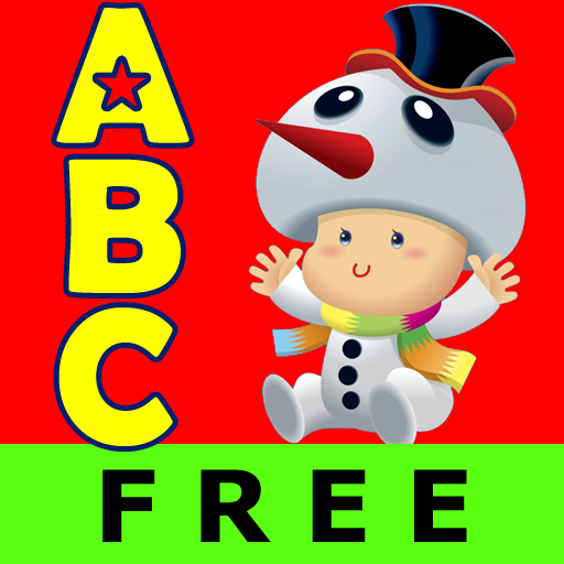 free ABC Christmas Nursery Rhymes Free Lite -Talking Voice Alphabet Flashcards Kids Games iphone app