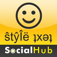 SocialHub for Facebook Twitter Buzz Myspace foursquare SMS Email Meebo: ♛✔☺ and ŜtŷÎëŝ Everywhere! for iPhone