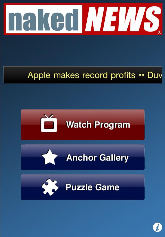 Naked News free app screenshot 1