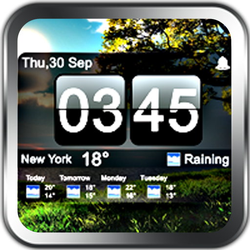 A nice weather clock pro