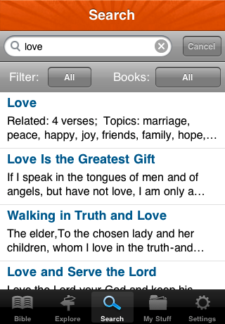 Image of Bible* for iPhone