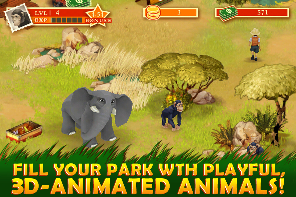 Safari Zoo screenshot 2