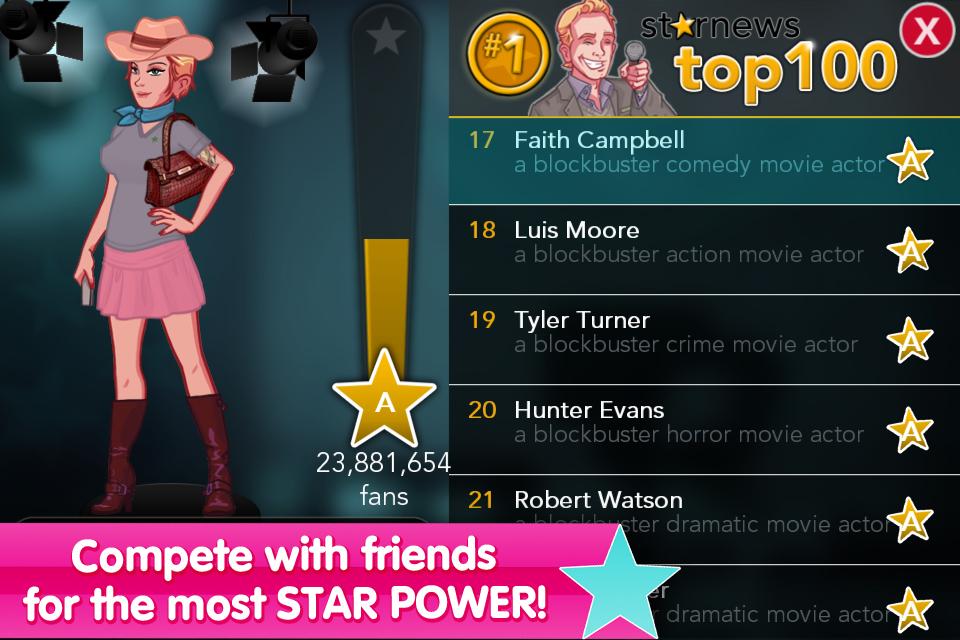 Stardom: The A-List screenshot 5